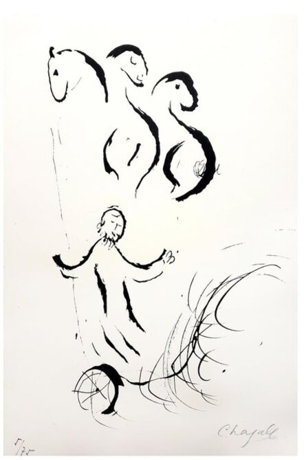 """Marc Chagall, 'Original Lithograph """"Bible I"""" by Marc Chagall', 1956"""