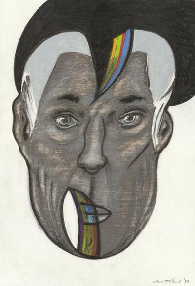 Art Paul, 'Head Study 108', 1998