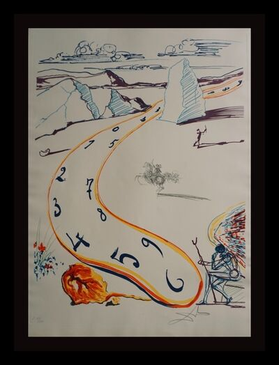 Salvador Dalí, 'Imaginations & Objects of The Future Melting Space Time', 1975