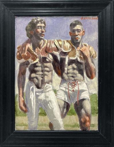 Mark Beard, '[Bruce Sargeant (1898-1938)] Two Members of the Winning Team', n.d.