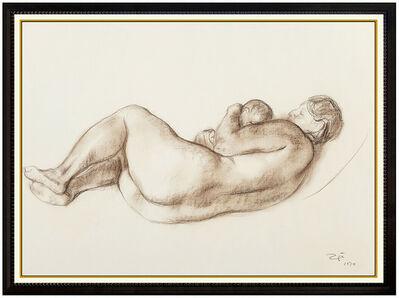 Francisco Zúñiga, 'Maternidad Zuniga', 1974