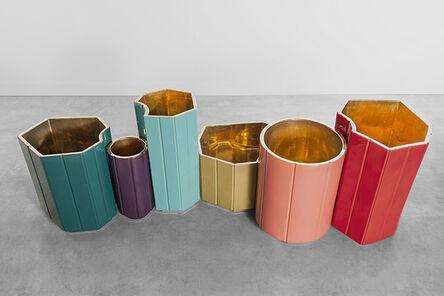 India Mahdavi, 'Landscape Vase Series #2'