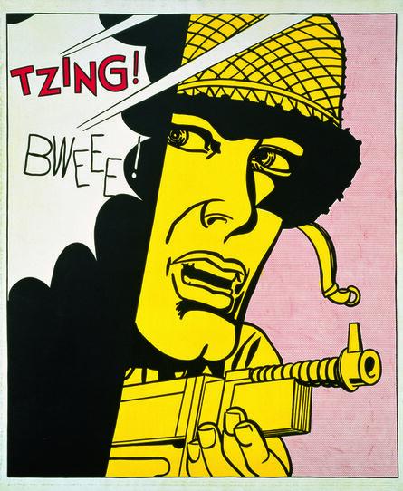 Roy Lichtenstein, 'Live Ammo (Tzing!)', 1962