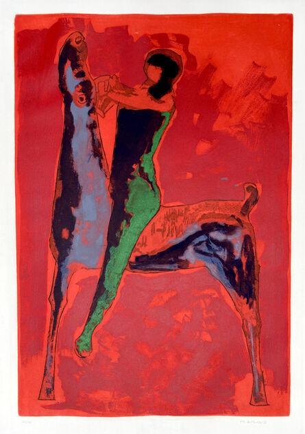 Marino Marini, 'Gran Cavaliere', 1978