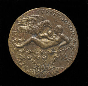 Matteo Pagani, 'Jupiter as an Eagle Bringing the Infant Hercules to Juno [reverse]', 1562