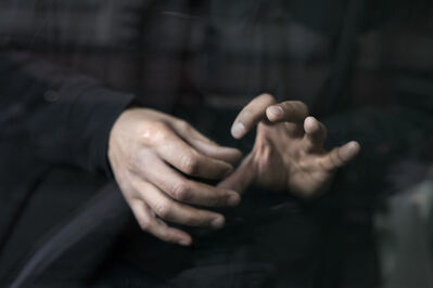 Anna Malagrida, 'Les mains IX', 2016