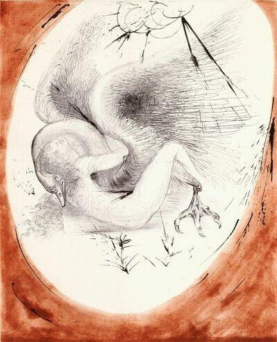 Salvador Dalí, 'Mythology: Leda and Swan - Leda Et Le Cygne ', 1963-1965