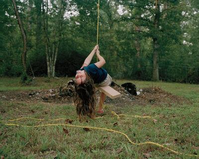 Shane Lavalette, 'Kaylyn Swinging', 2010