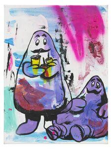 Thaddeus Strode, 'Milk shake ghost nirvana', 2015