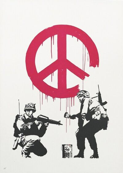 Banksy, 'CND Soldiers', 2005