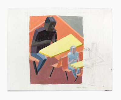 Mernet Larsen, 'Cafe (Study 3)', 2011