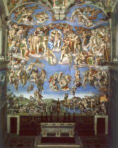 Michelangelo Buonarroti, 'Last Judgment, Sistine Chapel', 1536-1541