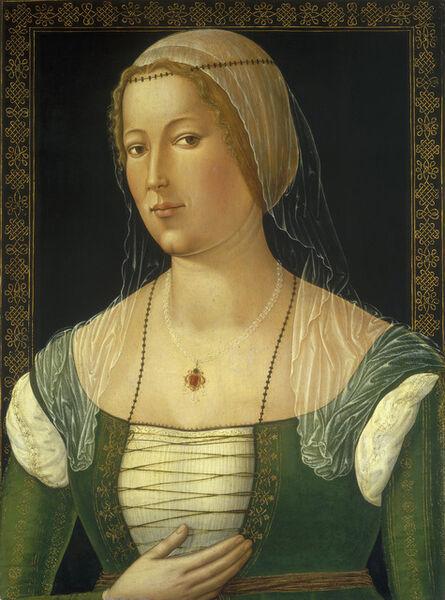 Girolamo di Benvenuto, 'Portrait of a Young Woman', ca. 1508