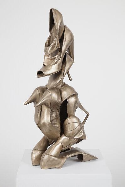 Willie Cole, 'Shoonufu Female Figure', 2013