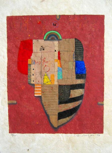 Cole Morgan, 'Halfshot (red) 98/150'