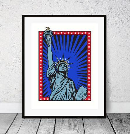Burton Morris, 'Liberty - USA', 2006