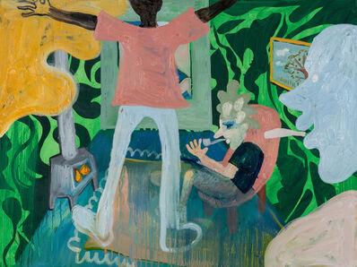 Brian Kokoska, 'Smoke Pit Cabin Interior', 2020