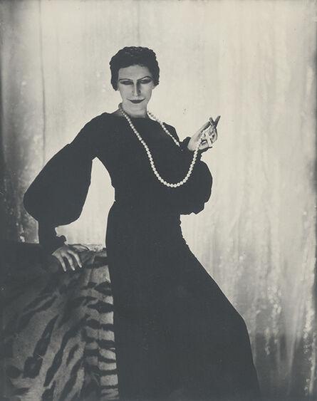 George Hoyningen-Huene, 'Cecil Beaton as Elinor Glyn', Paris 1930