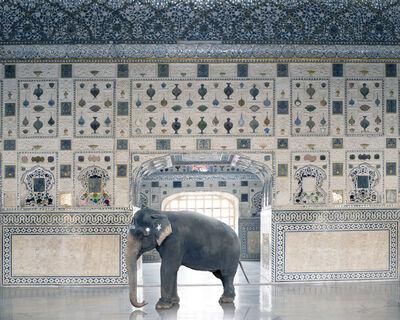 Karen Knorr, 'Temple Servant, Amber Fort, Jaipur', 2014