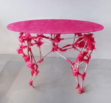 Vytautas Gečas, 'Pink console table', 2021
