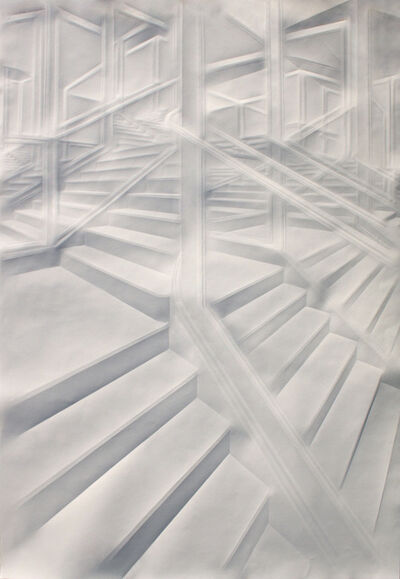 Simon Schubert, 'Untitled (Intricated 23)', 2018