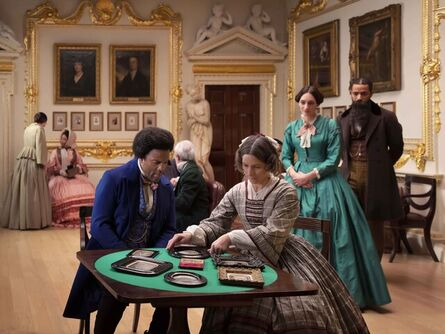 Isaac Julien, 'J. P. Ball Salon, 1867 (Lessons of the Hour)', 2019