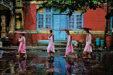 Steve McCurry, 'Procession of Nuns, Rangoon', 1994