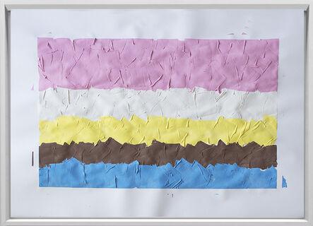 Rodrigo González Castellanos, 'Desgaste de la psicología del color, Benigno', 2020