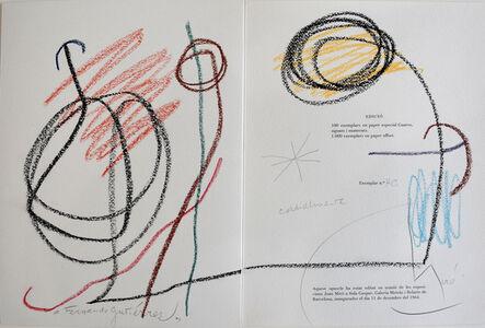 Joan Miró, 'Untitled (Fernando Gutiérrez) | Sans titre', 1964