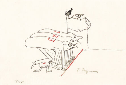 Tomi Ungerer, 'Untitled', 1962