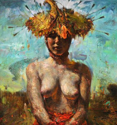 Victor Wang, 'Arrowed Sunflower Hat', 2013