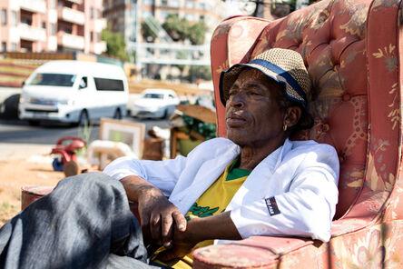 Senzo Bongwana & Zivanai Matangi, 'Ezweni Lam: In My World (Armchair)', 2019