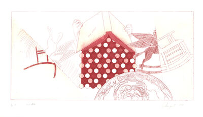 James Rosenquist, 'Tin Roof (2nd State)', 1978