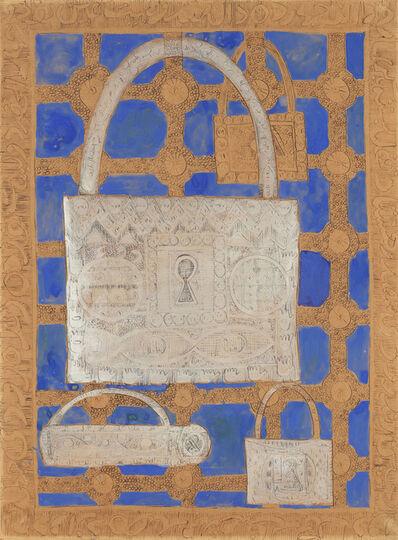 Charles Hossein Zenderoudi, 'Lock', ca. 1960