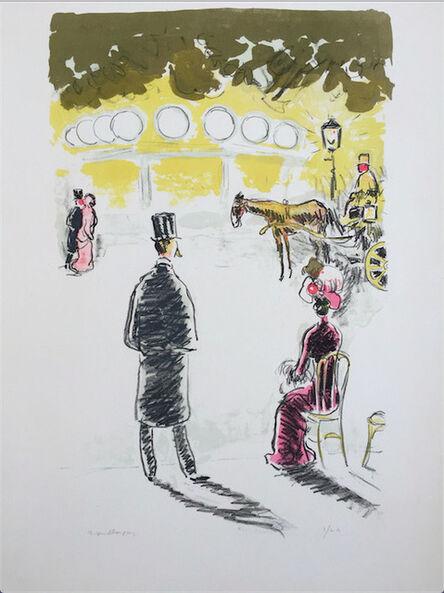 Kees van Dongen, 'La Fiacre', ca. 1950