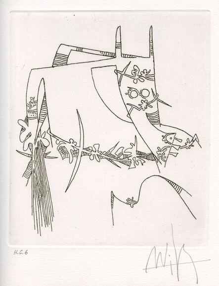 Wifredo Lam, 'Figure', 1974