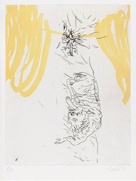 "Georg Baselitz, 'Ecco, from ""Schlafende Hunde""', 1998-1999"