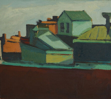 Iris Osterman, 'South End Rooftops', 1980