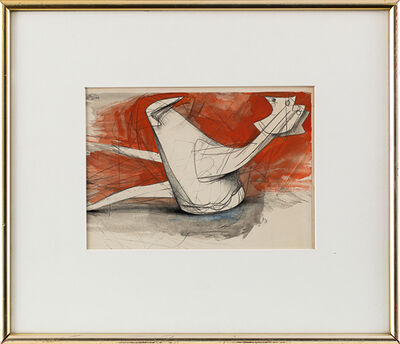 Bernard Meadows, 'Two Fallen Birds', 1960