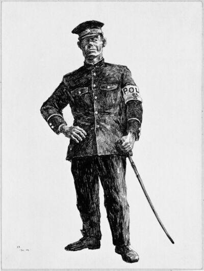 Kang Yobae, 'A Policeman of the American Military Government', 1990