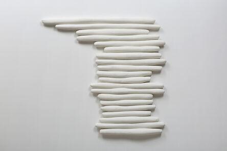 Anna Maria Maiolino, 'Rolinhos na Horizontal (Little Horizontal Rolls)', 1993-2017
