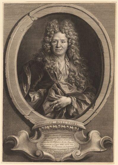 Cornelis Vermeulen after Nicolas de Largilliérre, 'Joseph Roettiers', 1700
