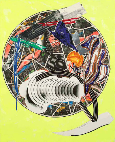 Frank Stella, 'The Whale as a Dish from Waves II', 1989