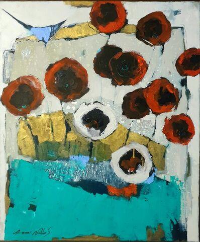 Ammar Alnahhas, 'Oriental poppy', 2021