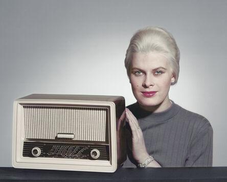 CLAIRE AHO, 'The Radio', Mid 1950´s