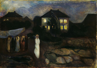 Edvard Munch, 'The Storm', 1893