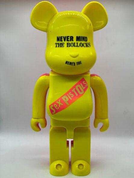 BE@RBRICK, 'Sex Pistols : Never Mind the Bollocks 1000% (Jaune et Rose)', 2006