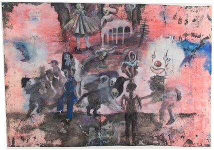 Christine Sefolosha, 'White Clown', 2019