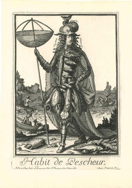 NICOLAS de LARMESSIN II, 'Habit de Pescheur', 1690
