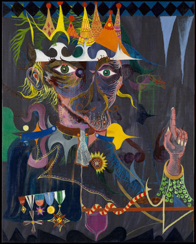 Abel Auer, 'The Bold King', 2008